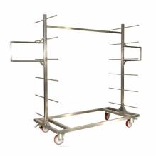 Wózek transportowy do studzenia chleba - półki drewniane *
