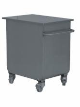 Pojemnik na materiały sypkie na kołach *
