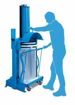 Pneumatyczna prasa do odpadów X-PRESS 100