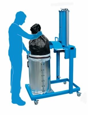 Pneumatyczna prasa do odpadów X-PRESS 200