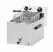 Frytkownica elektryczna 7 l z kranem FE-07 V *