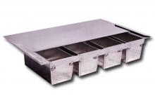 Zestaw form z aluminium do pieczywa tostowego lub pełnoziarnistego *