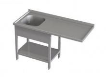Stół przedłużony ze zlewem i półką RMS *