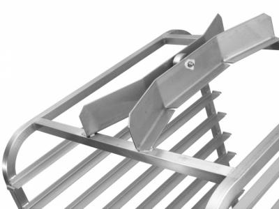 Wózek do pieca obrotowego SVEBA DAHLEN - górny najazd