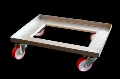 Wózek transportowy pod kosze piekarnicze INOX