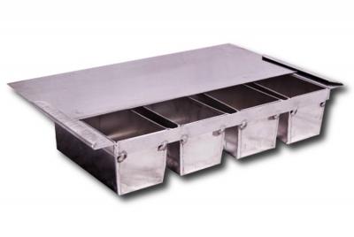 Zestaw form do pieczywa tostowego z aluminium